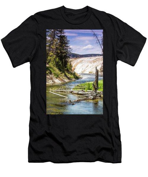 Geyser Stream Men's T-Shirt (Athletic Fit)