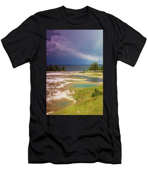 Geysers Pools Men's T-Shirt (Athletic Fit)