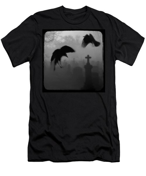Ghost Crows Men's T-Shirt (Athletic Fit)