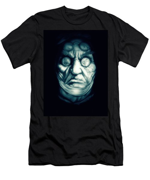 Ghost Marley Men's T-Shirt (Slim Fit) by Fred Larucci