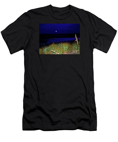 Ghost Moon Men's T-Shirt (Athletic Fit)