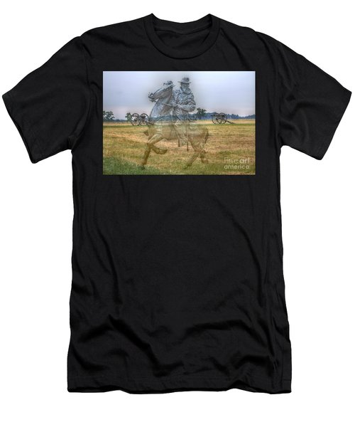 Ghost Of Gettysburg Men's T-Shirt (Athletic Fit)