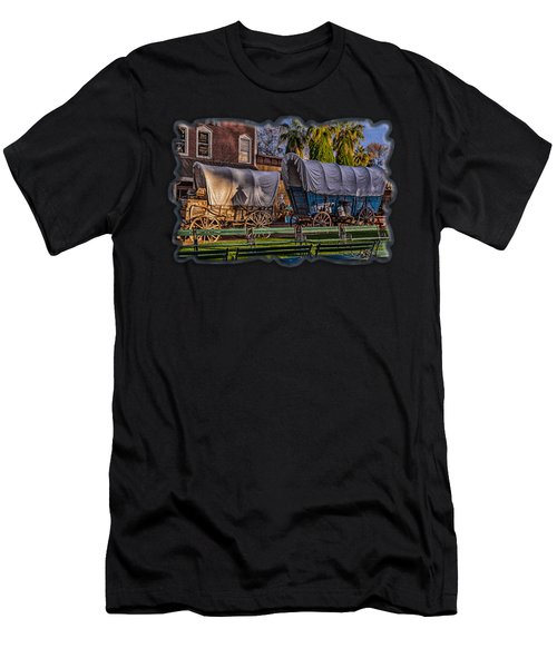 Men's T-Shirt (Athletic Fit) featuring the photograph Ghost Of Old West No.2 by Mark Myhaver