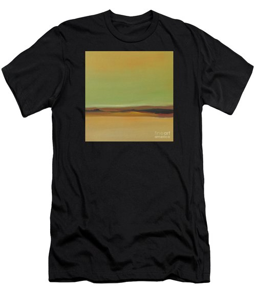 Men's T-Shirt (Athletic Fit) featuring the painting Ghost Ranch by Michelle Abrams