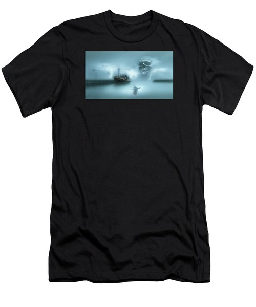 Ghost Ship 0002 Men's T-Shirt (Athletic Fit)