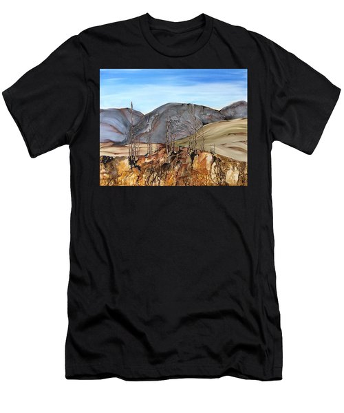 Ghost Valley Men's T-Shirt (Athletic Fit)