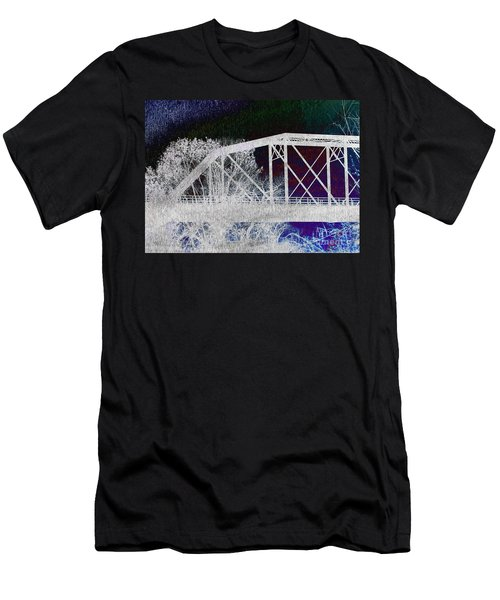 Ghostly Bridge Men's T-Shirt (Athletic Fit)