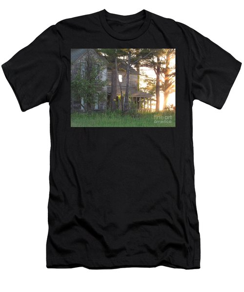 Ghostly Light Men's T-Shirt (Athletic Fit)