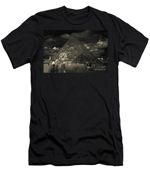 Ghosts Of The Louvre Men's T-Shirt (Athletic Fit)