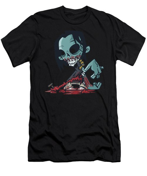 Ghoul T-shirt Men's T-Shirt (Athletic Fit)