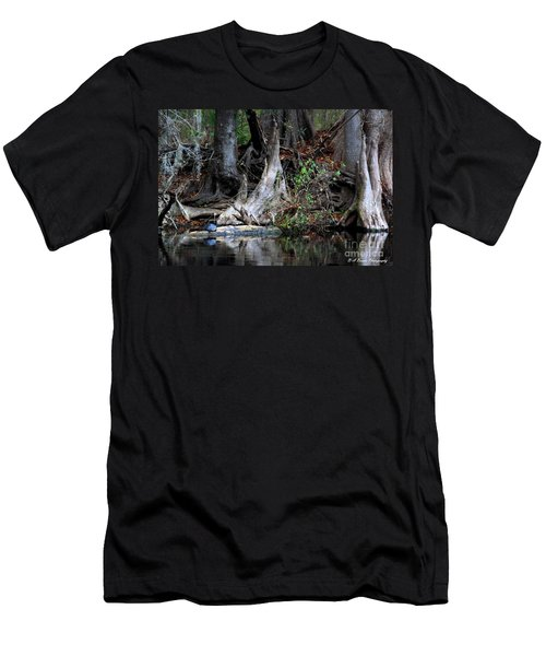 Giant Cypress Knees Men's T-Shirt (Athletic Fit)