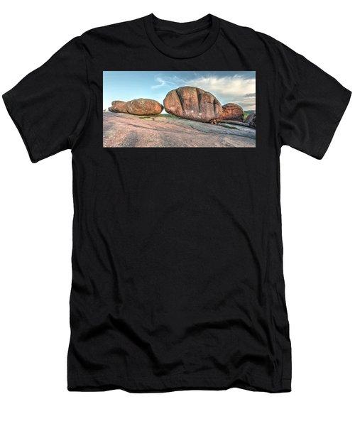 Giant Potatoes Men's T-Shirt (Athletic Fit)