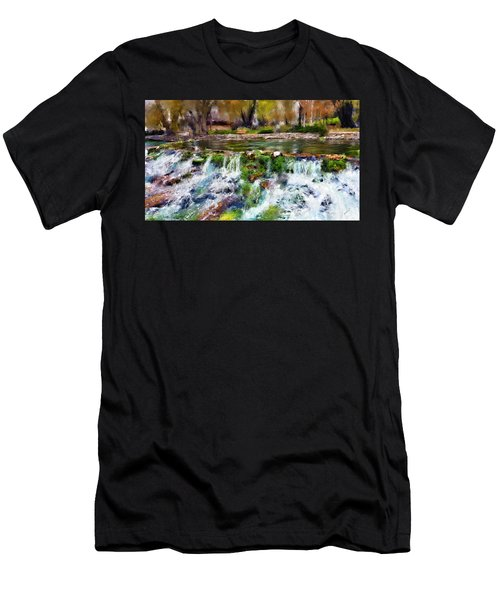 Giant Springs 1 Men's T-Shirt (Athletic Fit)