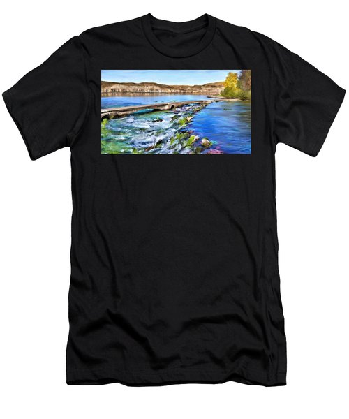 Giant Springs 3 Men's T-Shirt (Athletic Fit)