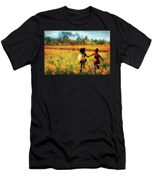 Gia's Field Of Dreams Men's T-Shirt (Athletic Fit)
