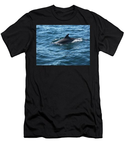Gibraltar Dolphin  Men's T-Shirt (Athletic Fit)