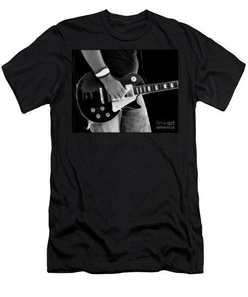 Gibson Les Paul Guitar  Men's T-Shirt (Athletic Fit)