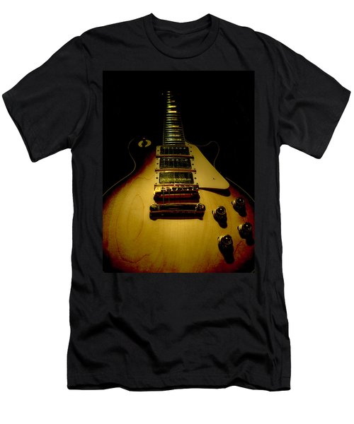 Guitar Triple Pickups Spotlight Series Men's T-Shirt (Athletic Fit)