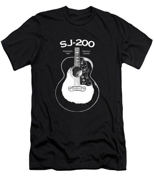 Gibson Sj-200 1948 Men's T-Shirt (Athletic Fit)