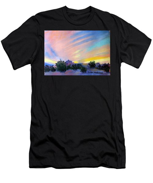 Gila Bend Sunset Men's T-Shirt (Athletic Fit)