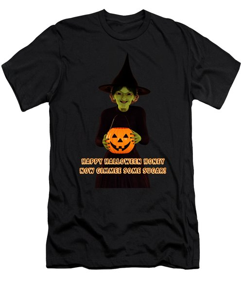 Gimmee Some Sugar Witch Men's T-Shirt (Athletic Fit)