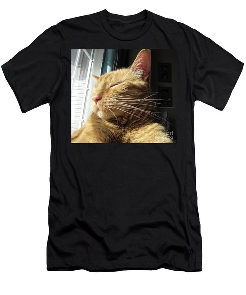 Ginger Tabby Men's T-Shirt (Athletic Fit)