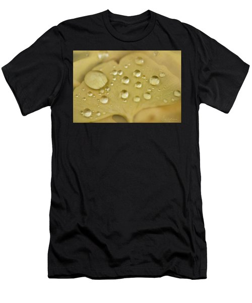 Men's T-Shirt (Athletic Fit) featuring the photograph Ginkgo Balls by Gene Garnace