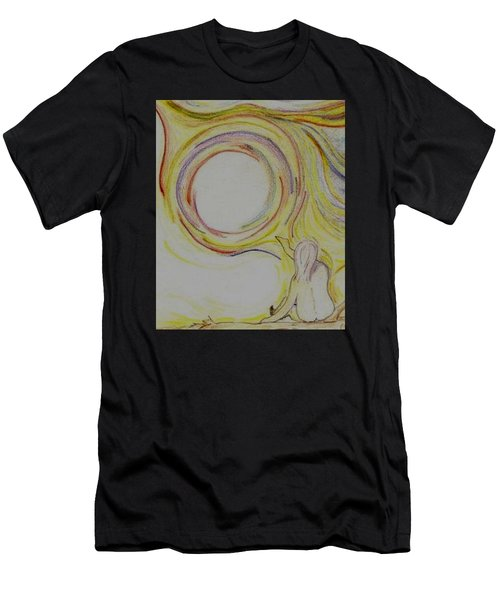 Girl And Universe Creative Connection Men's T-Shirt (Athletic Fit)