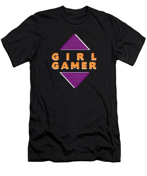Girl Gamer Men's T-Shirt (Athletic Fit)
