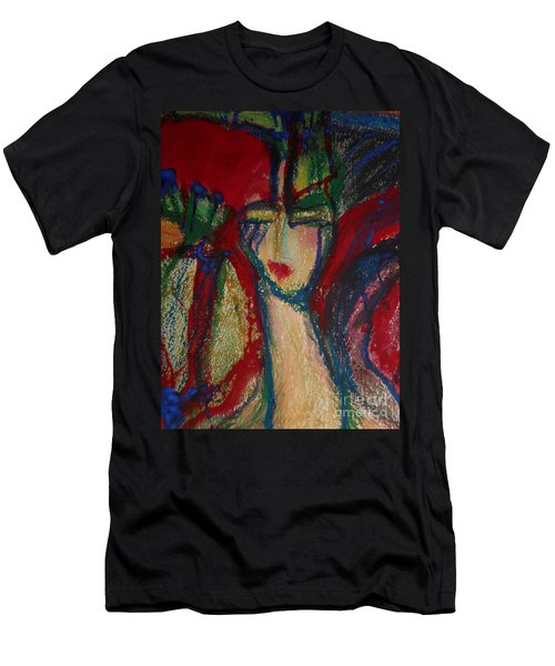 Girl In Darkness Men's T-Shirt (Athletic Fit)