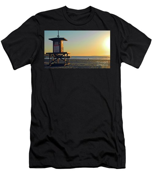 Men's T-Shirt (Slim Fit) featuring the photograph Give Me A Minute by Everette McMahan jr