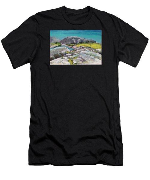Glacial Lake Men's T-Shirt (Athletic Fit)