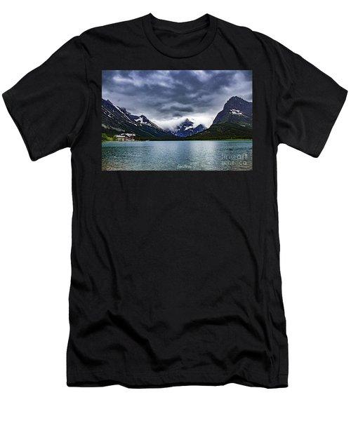 Glacial Getaway Men's T-Shirt (Athletic Fit)