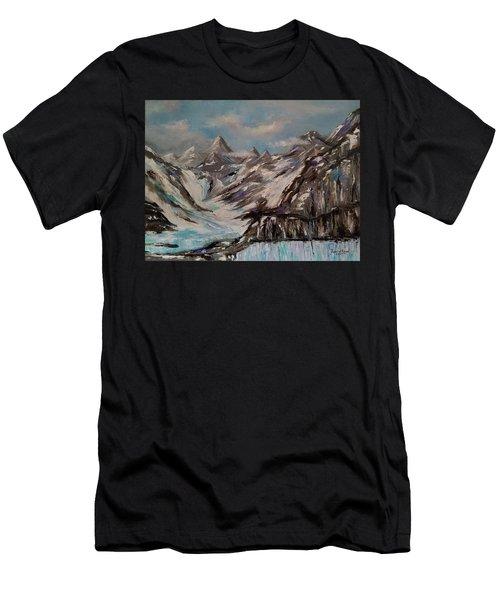 Glacier Bay, Alaska Men's T-Shirt (Athletic Fit)