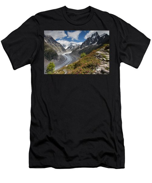 Glacier De La Mer De Glace Men's T-Shirt (Athletic Fit)
