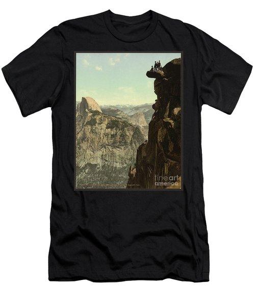 Glacier Point Yosemite Men's T-Shirt (Athletic Fit)