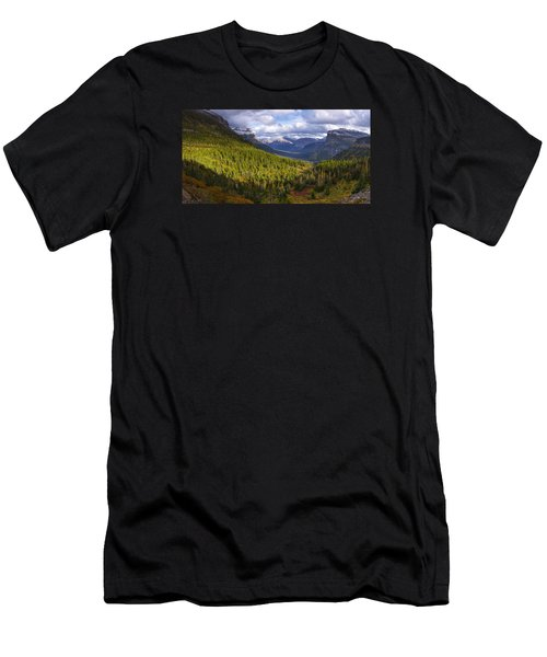 Glacier Storm Men's T-Shirt (Athletic Fit)