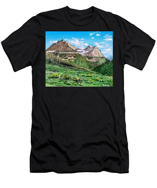 Glacier Summer Men's T-Shirt (Athletic Fit)