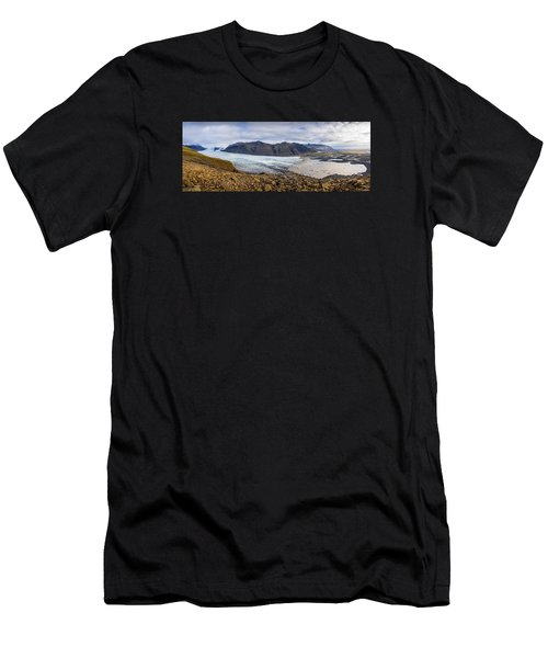 Men's T-Shirt (Athletic Fit) featuring the photograph Glacier View by James Billings