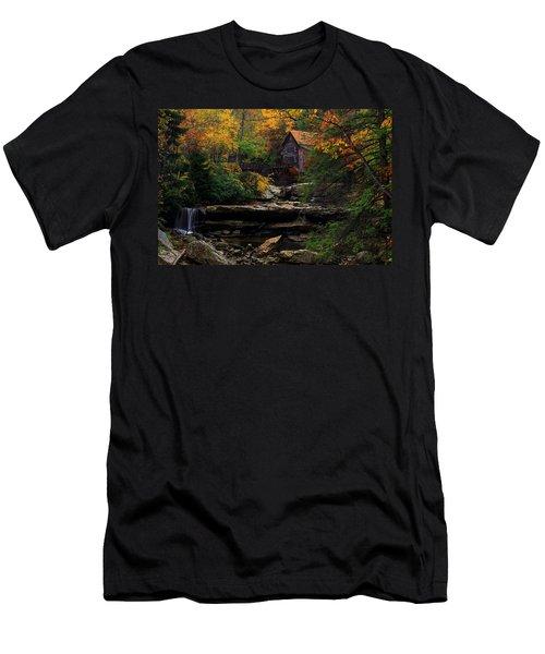 Glades Creek Grist Mill West Virginia Men's T-Shirt (Athletic Fit)