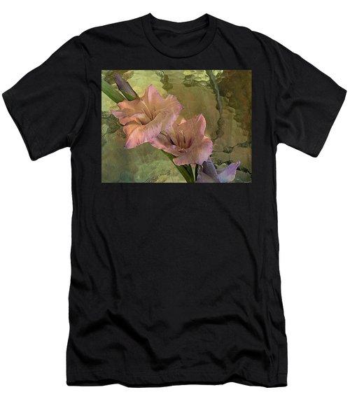 Gladiolas Men's T-Shirt (Athletic Fit)