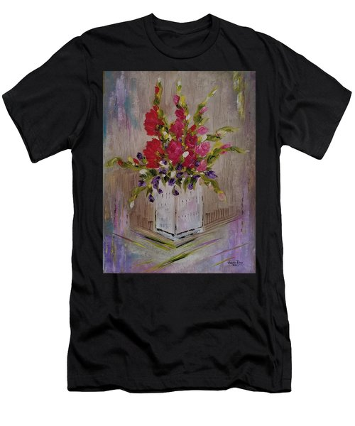 Gladiolus On Point Men's T-Shirt (Athletic Fit)