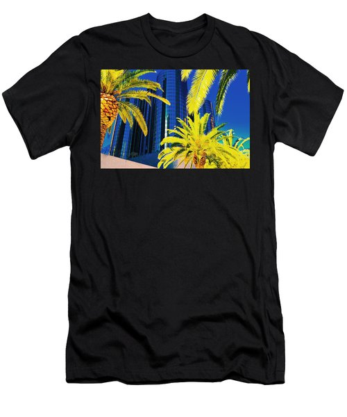 Glass And Palms Men's T-Shirt (Athletic Fit)