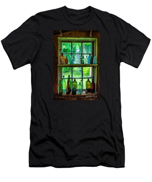 Glass Bottles Men's T-Shirt (Athletic Fit)
