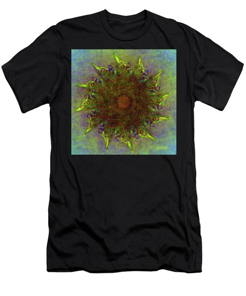 Glass Flower Men's T-Shirt (Athletic Fit)