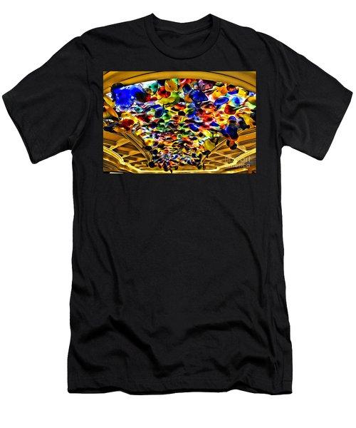 Glass Flowers Men's T-Shirt (Athletic Fit)