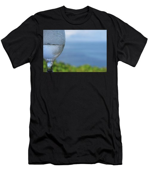 Men's T-Shirt (Slim Fit) featuring the photograph Glass Half Full by JoAnn Lense