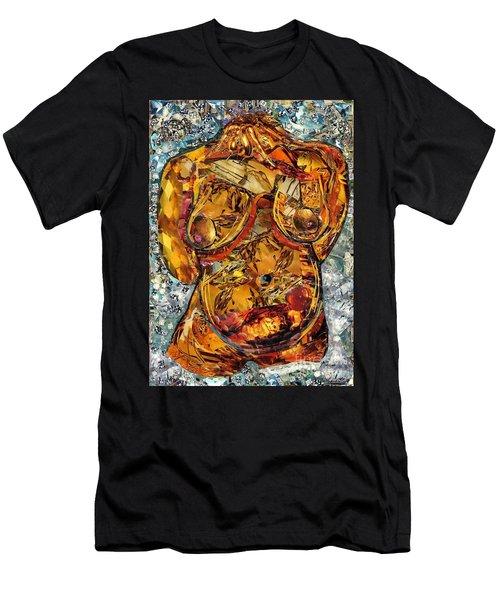 Glass Lady Men's T-Shirt (Slim Fit) by Sarah Loft