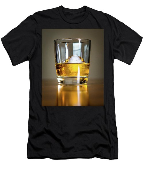Glass Of Whisky Men's T-Shirt (Athletic Fit)