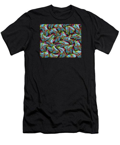 Glass Orchids1 Men's T-Shirt (Athletic Fit)